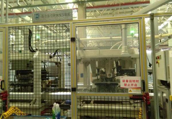 变速器离合器壳体机加辅线设备